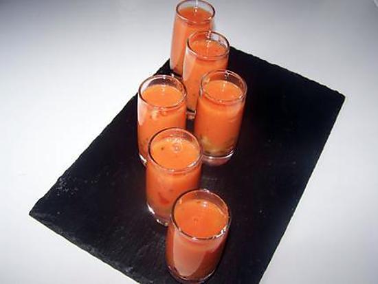 recette Gaspacho à la tomate