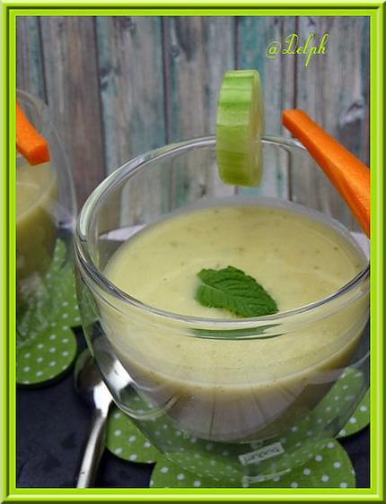 recette Soupe de concombre