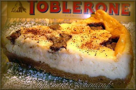 recette Cheezecake vanille truffé au Toblerone