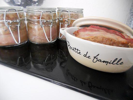 recette Terrine de porc enlardé