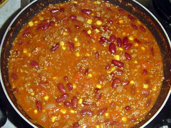 Recette de chili con carne par jessymaman - Recette chili cone carne thermomix ...