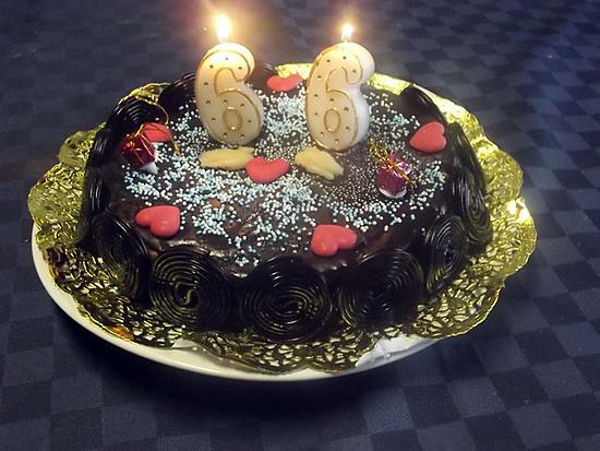 recette Gâteau au chocolat et réglisse.