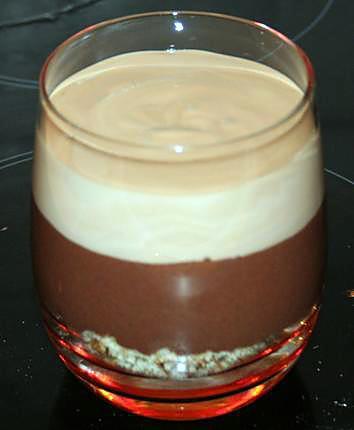 recette DUO CHOCOLAT DAIM SUR CROUSTILLANT DE MADELEINE