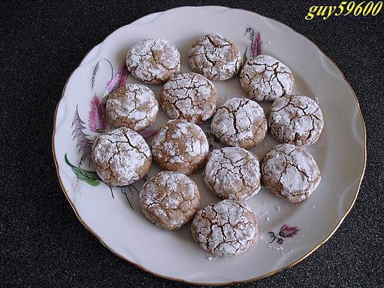 recette biscuits craquelés a la pâte a tartiner