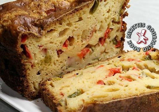 recette Cake aux tomates mozzarella et basilic