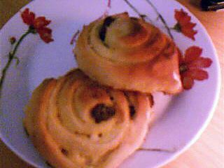 recette Les escargots aux raisins, machine à pain