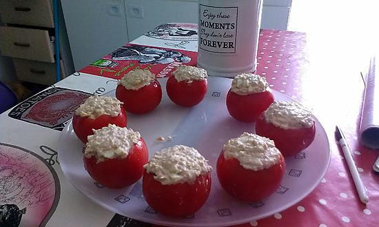 recette Tomate au thon