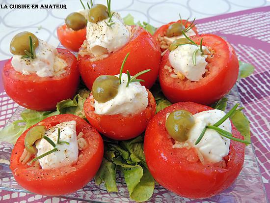 recette Tomates garnies anti gaspi