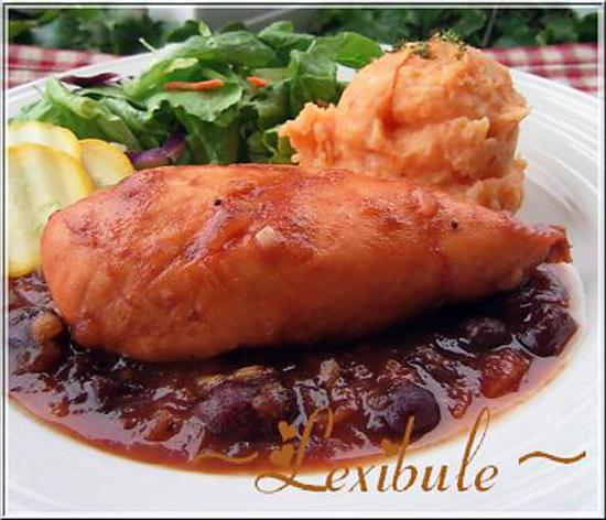 recette Poulet aux canneberges