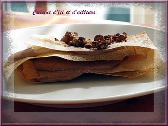 recette Croustillants chocolaté saveur abricot