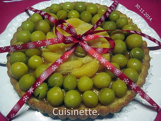 Recette De Gâteau Aux Mirabelles Et Agrumes De Fruitssans Cuisson