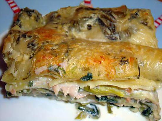 Recette De Lasagnes Saumon Fume Poireaux