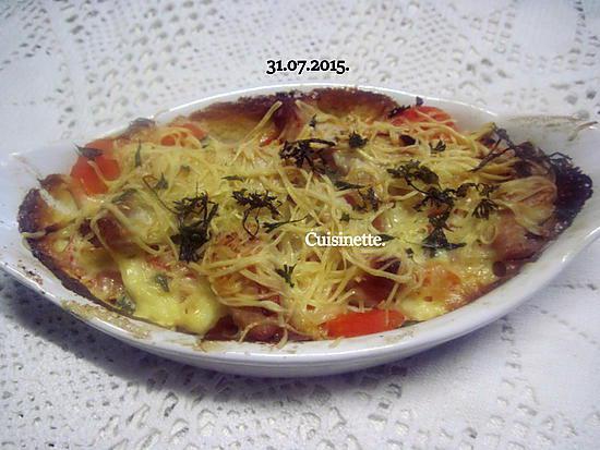 Gratin de carottes au poulet.photos. Gratin-de-carottes-au-poulet