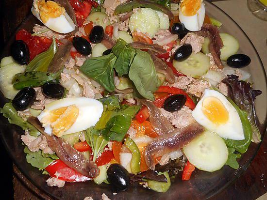 Recette de Salade niçoise par jeanmerode