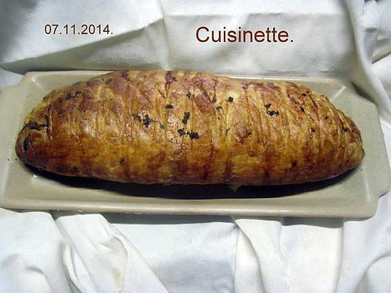 recette Filet mignon de porc en croûte.