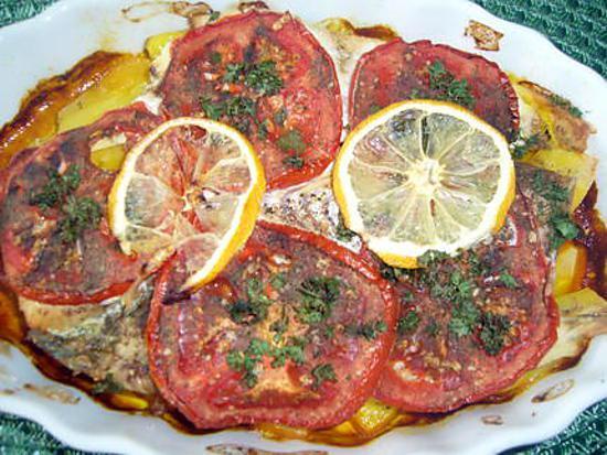 recette Gratin de poisson aux légumes