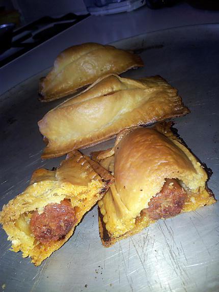 Recette de friand au chorizo mozzarella - Chorizo a griller recette ...
