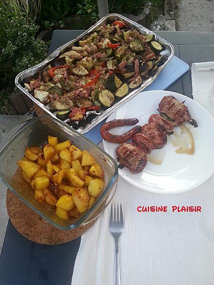 recette Country Potatoes au four (ou BBQ)