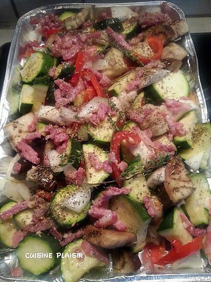 recette Farandole de légumes grillés, au four (ou BBQ)