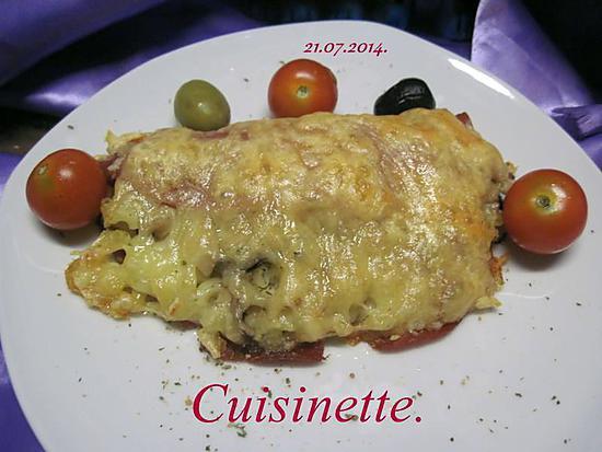 Cake Aux Courgettes Et Lardons Ww