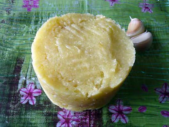 recette Ecrasé de pommes de terre au confit d'ail