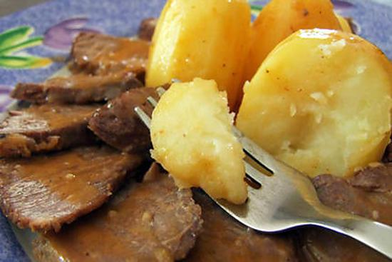 recette Collier de bœuf braisé