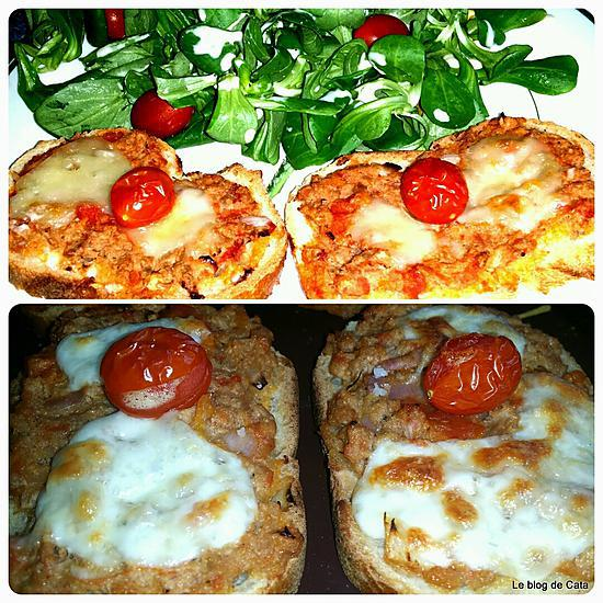 recette Bruschetta au thon