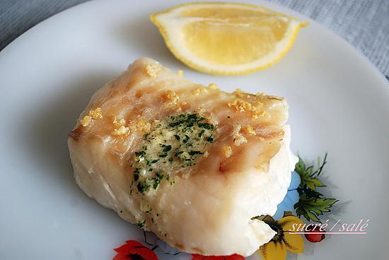 Recette de dos de cabillaud marin la sauge et au citron - Cuisiner un dos de cabillaud ...