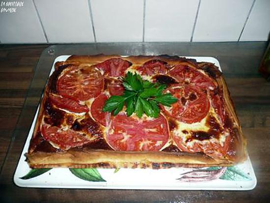 recette quiche de tomates au comté