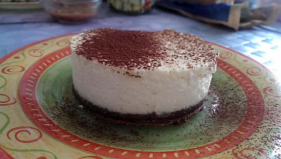 recette Cheesecake coco vanille cacao