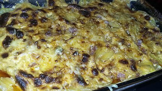 recette Gratin de pomme de terre-chorizo