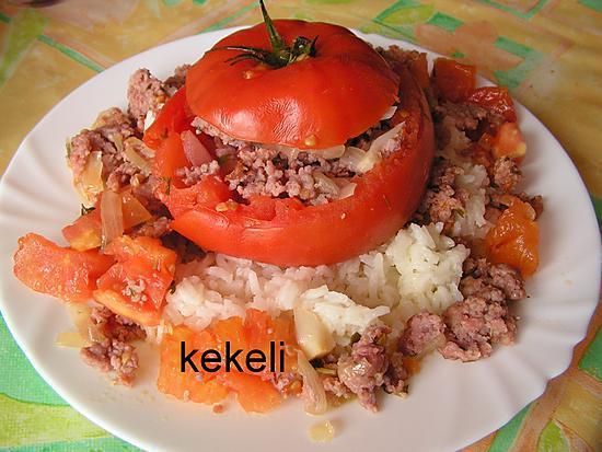 recette Tomates farcies à ma façon