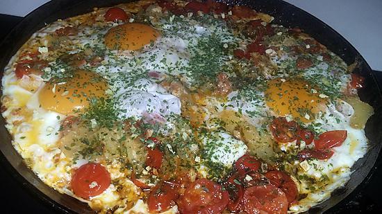 recette Oeufs a la provençal