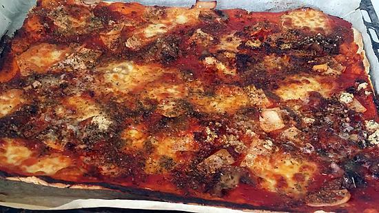 Recette de pizza familiale par notre am ur de cuisine - Recette de cuisine familiale ...