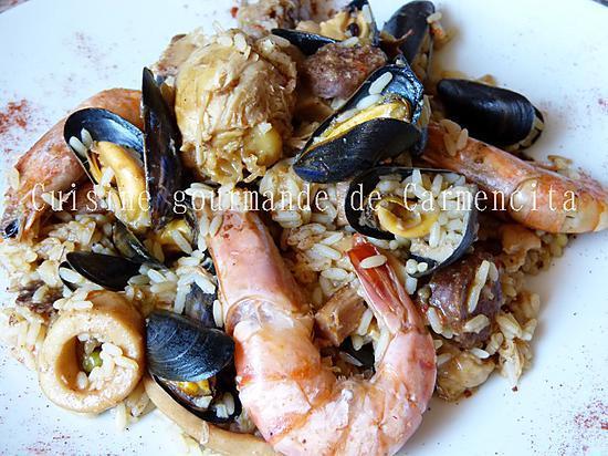recette Paella