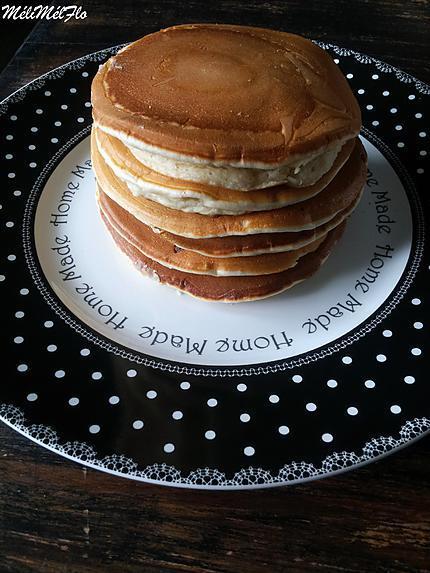recette de pancakes de cyril lignac par m lim lflo. Black Bedroom Furniture Sets. Home Design Ideas