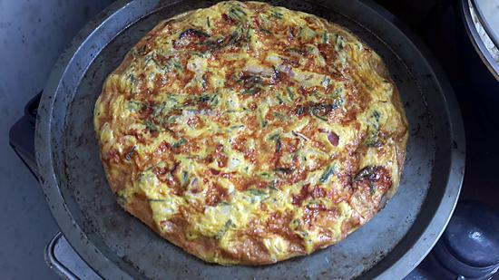 recette omelette  d asperge sauvage