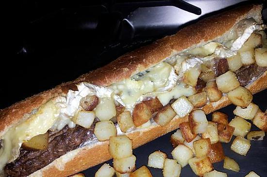 Recette de sandwich am ricain notre fa on - Recette sandwich froid baguette ...
