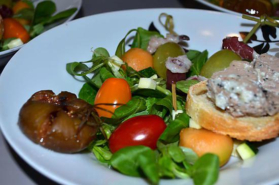 recette SALADE GERSOISE