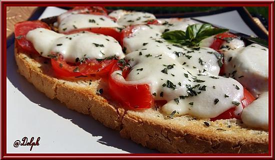 recette Bruschetta Italienne