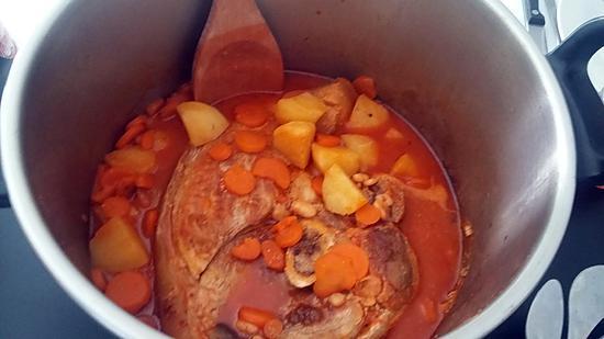 recette Ragout de rouelle de porc
