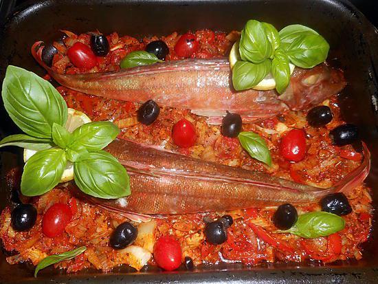 recette Rouget grondin à l italienne