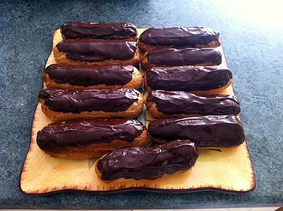 Calories pour 1 eclair au chocolat