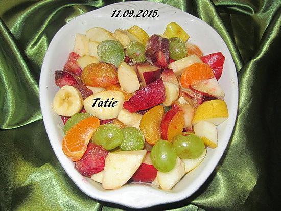 recette Salade de fruits.