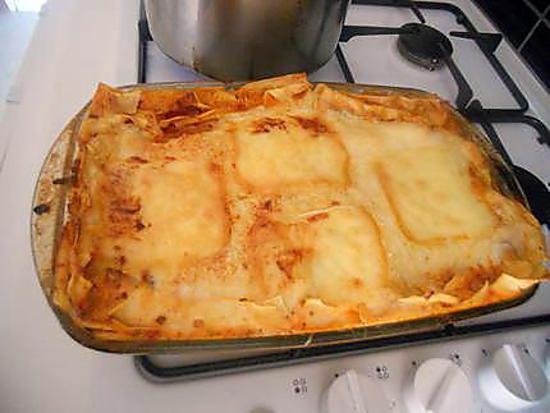recette de lasagnes sauce tomate b chamel mozzarella. Black Bedroom Furniture Sets. Home Design Ideas