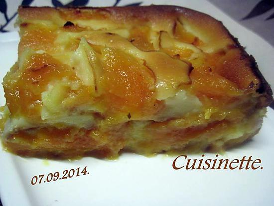 recette Clafoutis au melon et mascarpone.