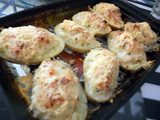 Les meilleures recettes de pommes de terre farcies au four - Recette saumon au four avec pomme de terre ...