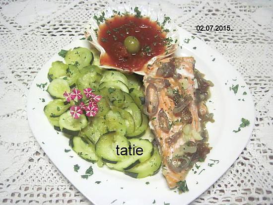 recette Pavé de truite aux échalotes.