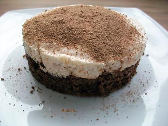 recette mousse aux poires sur son gâteau tout choco