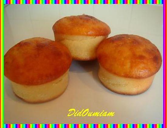 recette Petits gâteaux au citron et au lait fermenté